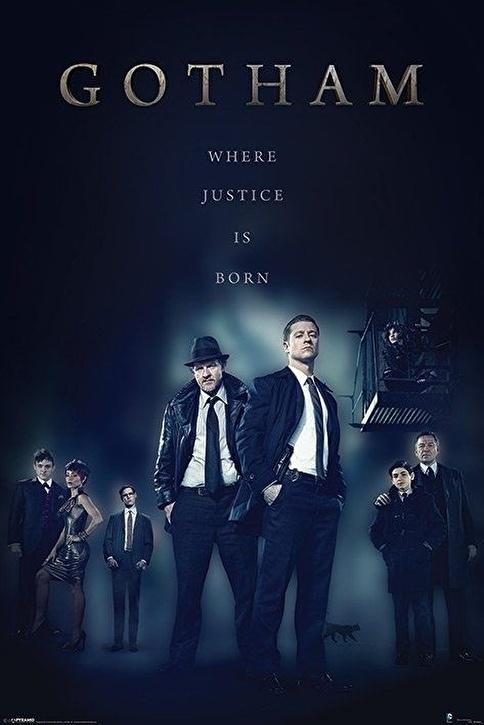 Pyramid International Maxi Poster Gotham Justice Renkli